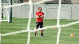The Reds latihan persiapan untuk laga pertama musim ini