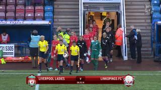 Cuplikan 7 menit LFC Ladies 2-1 Linkopings